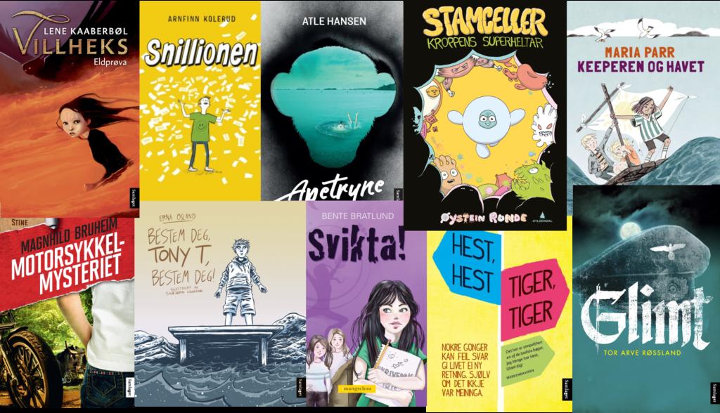 Boklista: Dette er bøkene som er med i Tid for ti 2018.