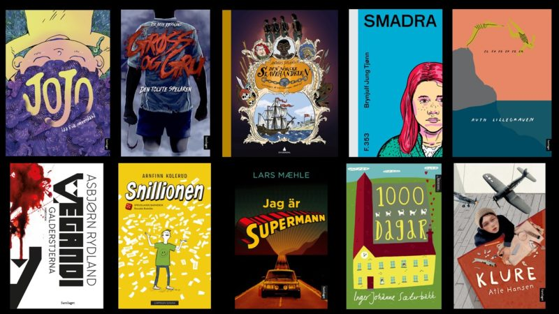 Nynorsk litteratur: Her er bøkene det er henta utdrag ifrå i Tid for ti 2019.